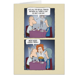 Cartão engraçado do amor: Fritadas de queijo
