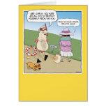 Cartão engraçado do aniversário: Vergonha