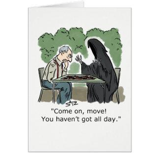 Cartão engraçado do Ceifador