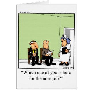 Cartão engraçado do dia das enfermeiras