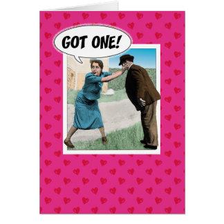 Cartão engraçado do dia dos namorados: Obtido!