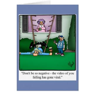 Cartão engraçado do dia dos pais