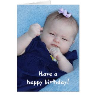 Cartão engraçado do feliz aniversario
