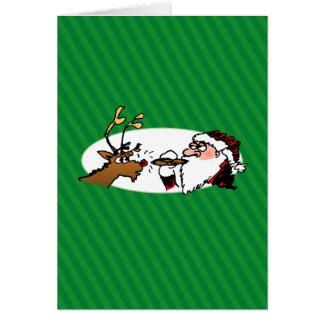 Cartão engraçado do feriado dos desenhos animados