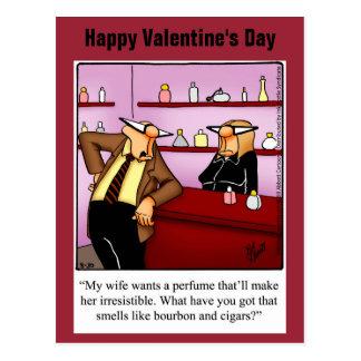Cartão engraçado do humor do dia dos namorados