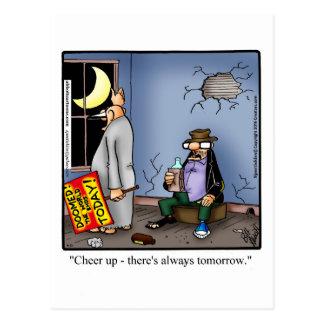 Cartão engraçado do humor do incentivo