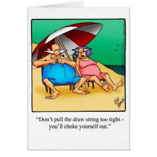 Cartão engraçado dos parabéns da aposentadoria