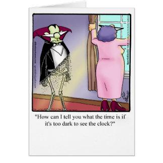"""Cartão engraçado """"Specktickles """" da desculpa"""