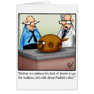Cartão engraçado Spectickles do vazio do humor do
