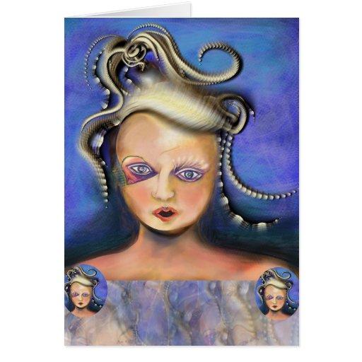 Cartão entendido mal do Medusa por Anjo Lafin