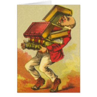 Cartão Enterrado nos livros
