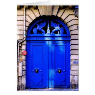 Cartão Entrada de Paris