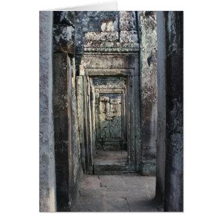 Cartão entradas do angkor