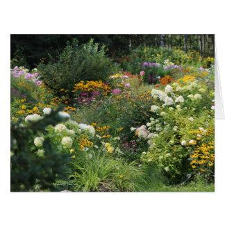 Cartão Entre nos jardins de setembro!