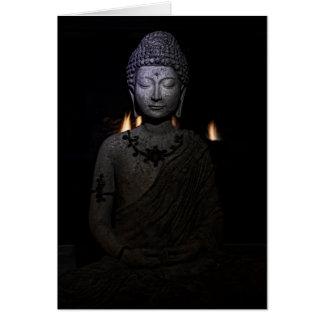 Cartão Envie a luz do Buddha