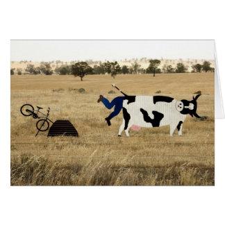 Cartão Equitação áspera