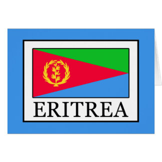 Cartão Eritrea