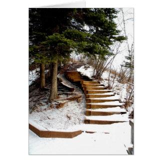 Cartão Escadaria sereno