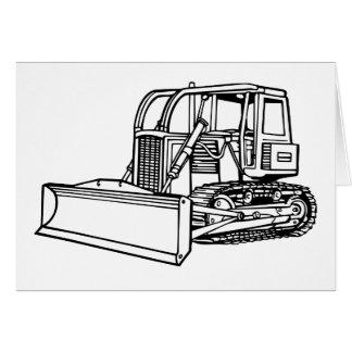 Cartão escavadora