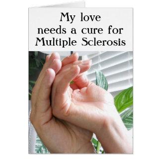 Cartão Esclerose múltipla (MS)