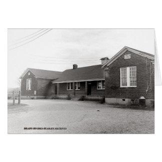Cartão Escola da faculdade de Irving cerca de 1950