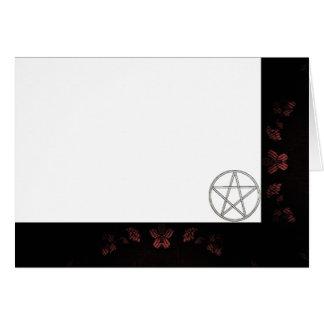 Cartão Escolha seus malva da cor & vazio do tecido do