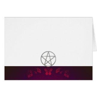 Cartão Escolha seus marrom da cor & vazio do tecido do
