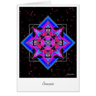 Cartão Escorpião
