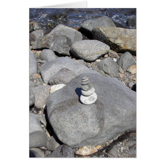 Cartão Escultura da rocha