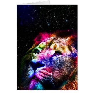Cartão Espace o leão do _caseSpace do leão - leão