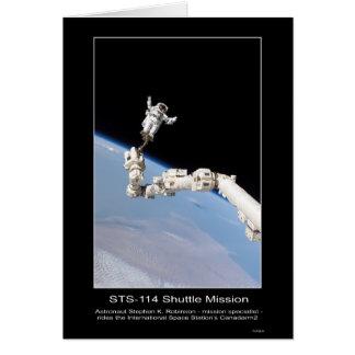 Cartão Espaço de Stephen K. Robinson Internacional do