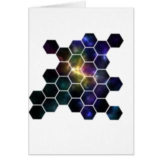 Cartão espaço geométrico