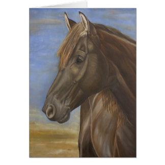 Cartão espanhol II do cavalo