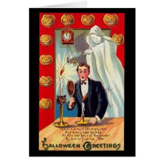 Cartão Espelho do fantasma