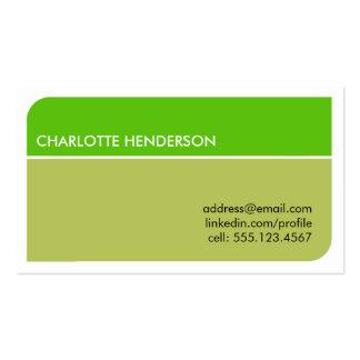 Cartão esperto do resumo do emprego do estudante d cartoes de visitas