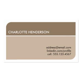 Cartão esperto do resumo do emprego do estudante d modelos cartoes de visita