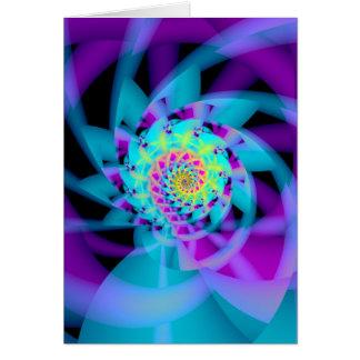 Cartão espiral embrionária