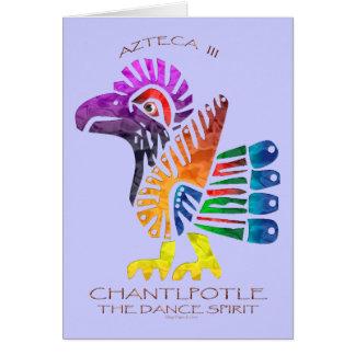 Cartão Espírito da dança de CHANTLPOTLE