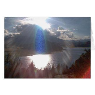 Cartão Espírito da paz