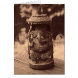 """Cartão """"Espírito de Ganesha """""""
