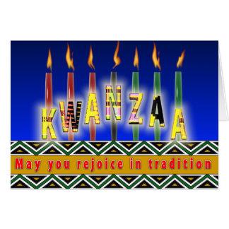 Cartão Espírito de Kwanzaa