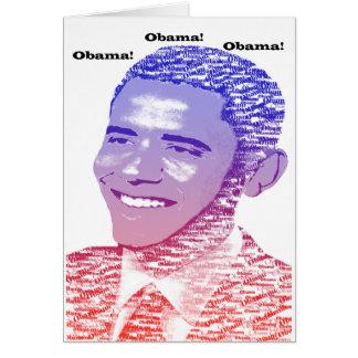 Cartão Espírito de Obama