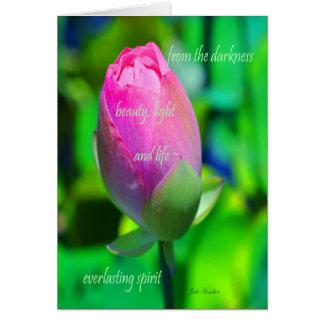 Cartão Espírito eterno