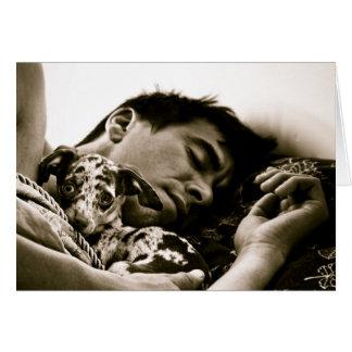 """Cartão """"Esplendor sonolento de domingo"""" por Christine"""