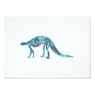 Cartão Esqueleto do dinossauro (Scelidosaurus)