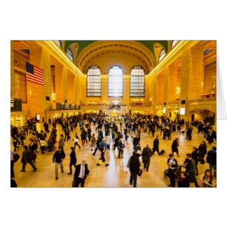Cartão Estação central grande NYC