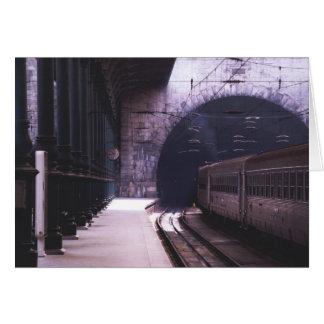 Cartão Estação de caminhos-de-ferro de Porto, Portugal