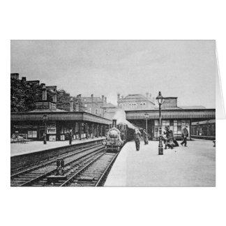 Cartão Estação de Canonbury, Islington, c.1905