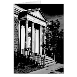 Cartão Estação de correios principal McMinnville