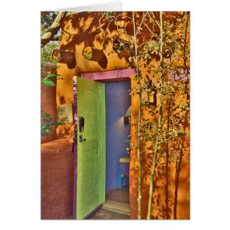 Cartão Estar aberto #2 de Taos New mexico